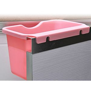 Recycling Container Case Accessories Home Kitchen Cabinet Door-Mounted Plastic Hanging Wastebasket Trash Can Garbage Bins pictures & photos
