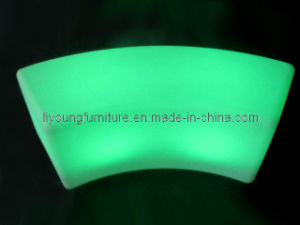 Remote Control Illuminated LED PE Bench (LGL-1240)