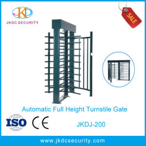 Factory Price Anti Rust Full Height Turnstile with Single Lane pictures & photos
