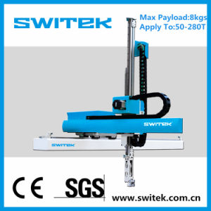 CE Plastic Machine Sw52 Robot Arm (for) Plastic Moulding Machine
