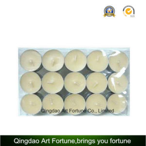 Machine Made Cheap 12g White Wax Tealight Candle for Home Decoration pictures & photos
