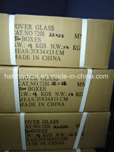Lab Cover Glass 22X22mm, 100PCS pictures & photos