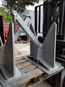 Marine Mooring Offshore Hardware Danforth High Holdng Power Anchor for Sale pictures & photos