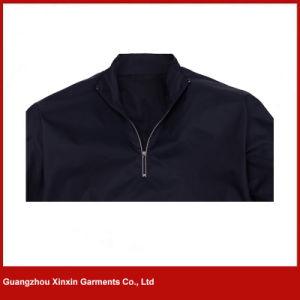 Factory Wholesale Custom Design Fashion Men Dark Blue Golf Jackets (J162) pictures & photos