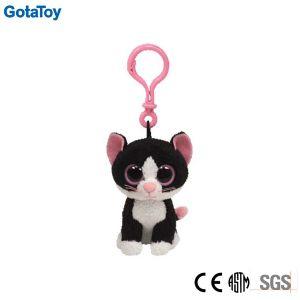 Custom Plush Cat Keychain Soft Toy Plush Cat Key Ring pictures & photos