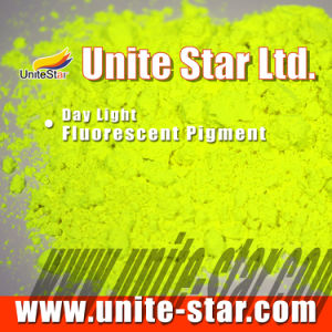 Day Light Fluorescent Pigment Lemon Yellow for Inks pictures & photos