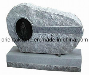 Natural Granite Irregular American Style Tombstone/Headstone