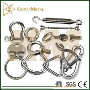 316 Stainless Steel Shade Sail Fittings pictures & photos