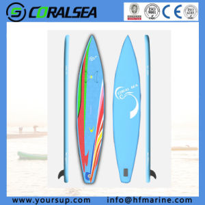 "Beautiful Design Inflatable Surfing Kayak for Sale (Classic12′6"") pictures & photos"