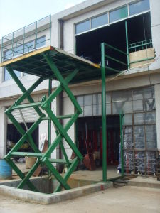 Stationary Hydraulic Lifting Table pictures & photos