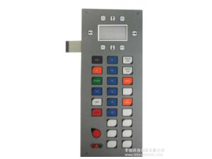 Metal Dome Embossing Control Keypad Touch Membrane Switch pictures & photos