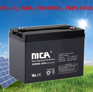 Deep Cycle Battery 6V 225ah Gel Cell Battery 6V pictures & photos