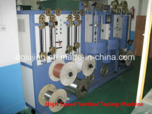 High Speed Nc Vertical Horizontal Cable Taping Machine pictures & photos
