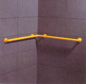 Nylon Corner Grab Bar for Bathroom pictures & photos