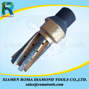 Romatools Diamong Milling Tools of Finger Bits for Trimming, Drilling and Milling Slabs on CNC Machine pictures & photos
