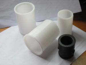 White POM Bushing of Plastic Parts pictures & photos