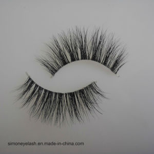 Wholesale Natural Mink Hair Custom Brand 3D Mink Eyelashes pictures & photos