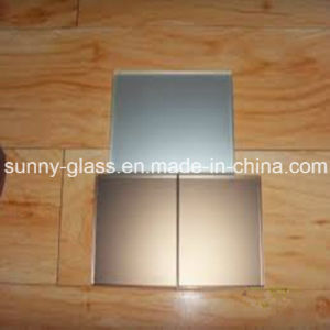 Silver/Aluminum Colored Glass Mirror pictures & photos
