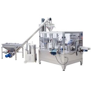 Pouch Powder Packing Machine Rotary Filling and Sealing Machine pictures & photos
