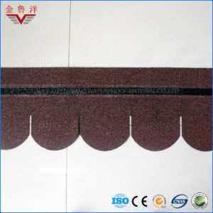 Fish Scale Type Colorful Asphalt Roofing Tile, Colorful Asphalt Shingle