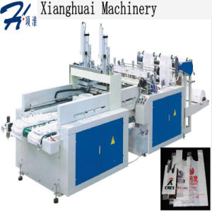 New Arrival High Speed T-Shirt Bag Making Machine pictures & photos