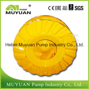 Anti-Wear Mineral Sand Handling Sludge Pump Part Impeller pictures & photos