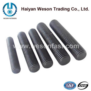 Gr8.8 High Quality Black Threaded Rod pictures & photos