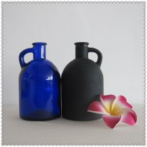 Cooking Oil Glass Bottle with Handle pictures & photos