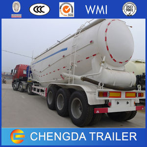 China 3 Axles 45m3 Bulk Cement Tank Semi Trailer for Sale pictures & photos