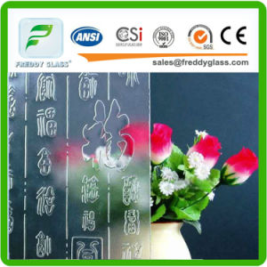 2mm, 4mm, 5mm Clear Tempered Patterned Glass for Sliding Door pictures & photos