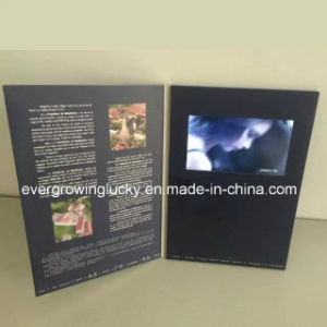 Video Supply 7 Inch LCD Postcards for Valentine′s Day pictures & photos