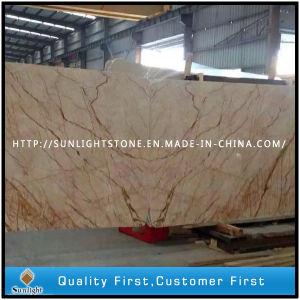 Crema EVA Beige Marble Prefab Countertops Slabs for Vanity Tops pictures & photos