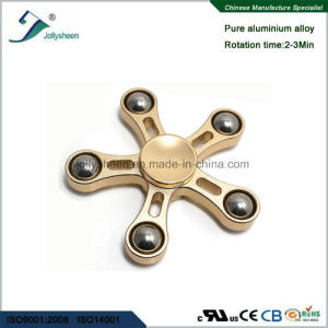 Hot Selling Five Leaves Alloy of Hand Spinner Toys with 5 Balls pictures & photos
