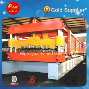 PLC Automatic Color Steel Roofing Sheet Roll Forming Machine pictures & photos