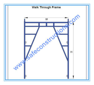 Safe SGS Passed Frame Scaffolding for Construction pictures & photos