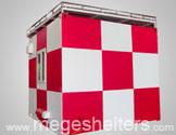 FRP Customized Design Communication/ Meteorological Shelter