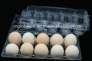 2/4/6/8/10/12/15/18/24/30 Holes Disposable Plastic Eggs Tray PVC Pet pictures & photos