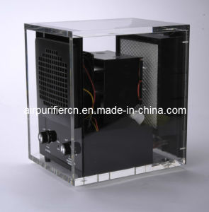 Clear Acrylic Cabinet Air Purifier with UV Light, Lonizer and Ozone pictures & photos