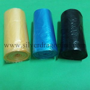 HDPE Family Rubbish Bags on Roll with Competitive Price pictures & photos