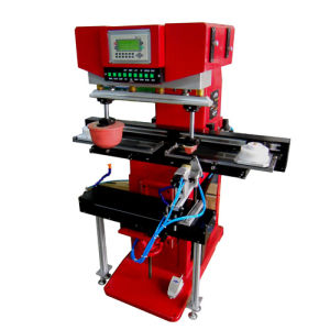 Two Color Shoe Heel Pad Printing Machine (M2-XT)