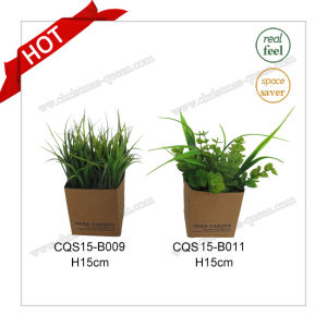 H15cm Plastic Wedding Garden Decoration Artificial Plant Flowers pictures & photos