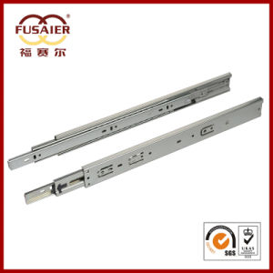 High Quality 45mm Soft-Closing Telescopic Drawer Slides pictures & photos
