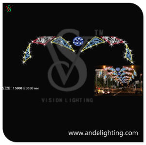 Large Size LED Across Street Motif Light for Outdoor Decoration pictures & photos