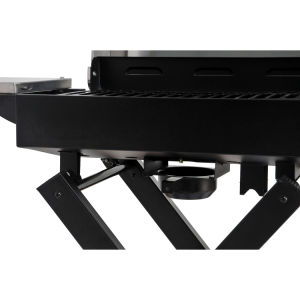 Foldable Gas BBQ Grill Folding Trolley pictures & photos
