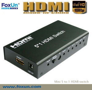 5*1 HDMI Switch Support 3D at 1080p