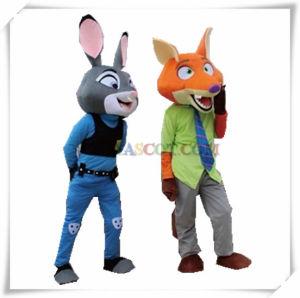 Rabbit Judy and Fox Nick Cartoon Character Zootopia Mascot pictures & photos