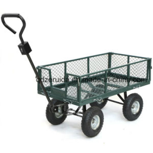High Quality Steel Meshed Garden Tool Cart (TC4211) pictures & photos