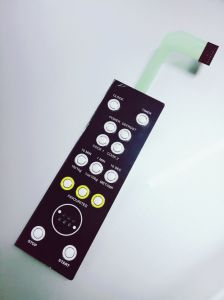 High Quality Membrane Switch with 14 Metal Dome by Singway pictures & photos