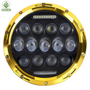 7 Inch 75W IP68 LED Car Headlight for Jeep LED Cae Light pictures & photos