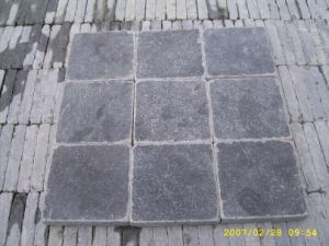 Tumbled Blue Limestone Pavers for Patio pictures & photos